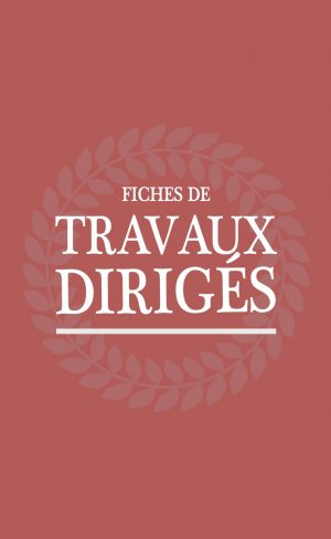 Fiches TD Rouge